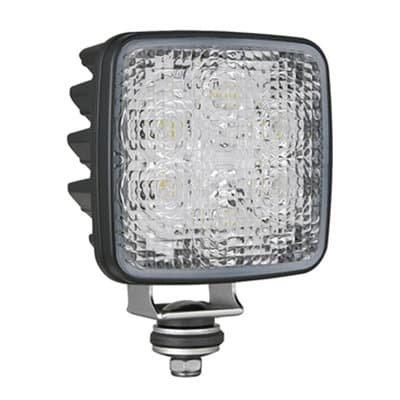 Wesem LED Reversing Lamp CRK2-AR Square ECE Deutsch-DT