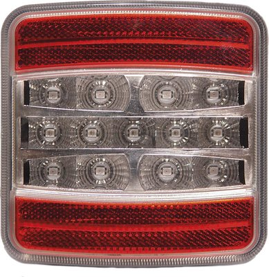 4-Function Rear Led Lamp Square