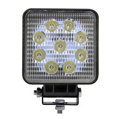27W LED Work Light Square