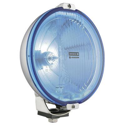 Wesem Halogen HOS2 Chrome Driving Light Blue 12V (LED Ring)