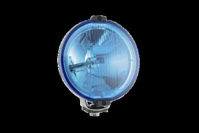 Wesem Halogen HOS2 Chrome Driving Light Blue 24V (LED Ring)