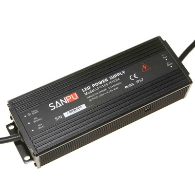 Waterproof 24 Volt DC 150W LED Driver