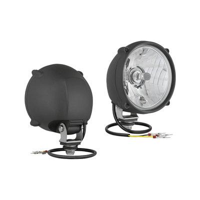 Headlamp diamter Ø148, H4, With housing