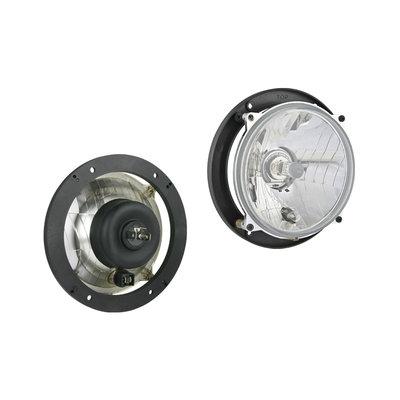 Headlamp H4 Ø166x75 hole pattern 106x106