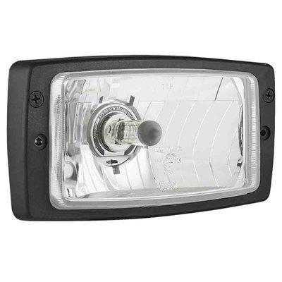 Headlamp H4 184x102x80 + Frame