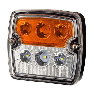 Horpol LED Front Lamp Square 12-24V LZD 2239