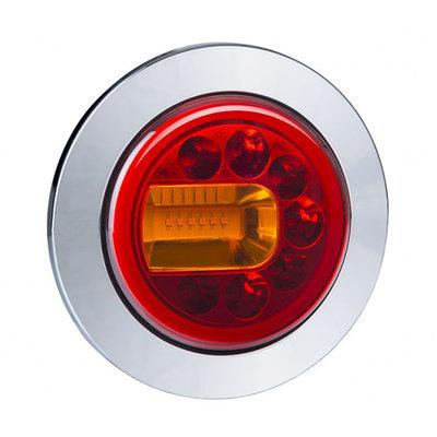 Horpol LED Rear Lamp Left Chrome LUNA LZD 2446