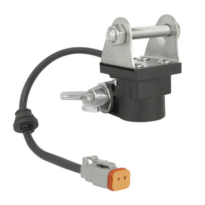 Tube clamp adapter with Deutsch connector