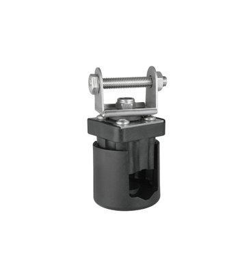 On-pipe holder 3D Adjustable Ø15-28mm