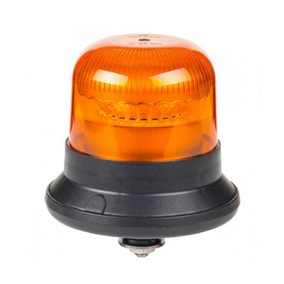 Horpol LED Flashing Light M12 Bolt Mount Orange LDO-2662