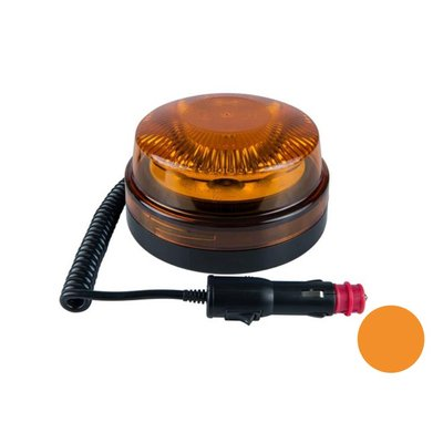 Led Beacon With Magnetic Base Orange