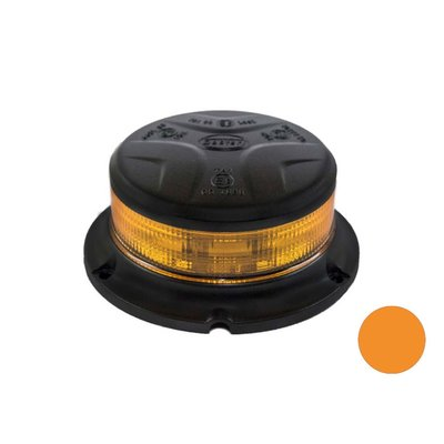 LED Beacon Flat Base Orange