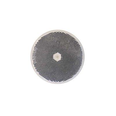 Reflector round 8cm White