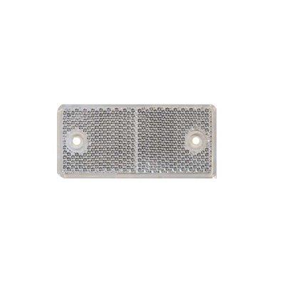 Rectangular Reflex - Reflector White 4,4x9,4