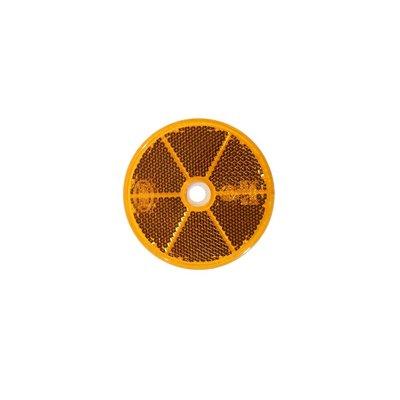 Round Reflex - Reflector Ø60mm Orange