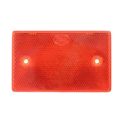 Warning Reflex - Reflector Rectangle 65X105mm Red