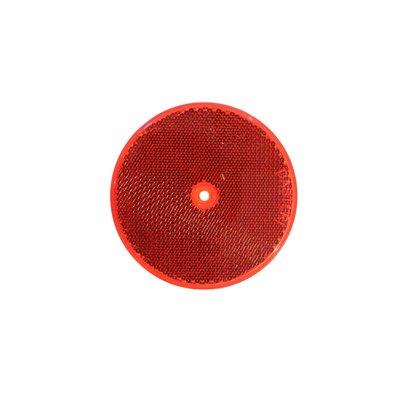 Reflector Round Ø8cm Red
