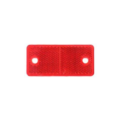 Rectangular Reflex - Reflector Red 4,4x9,4