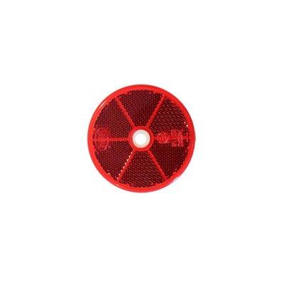 Round Reflex - Reflector Ø60mm Red