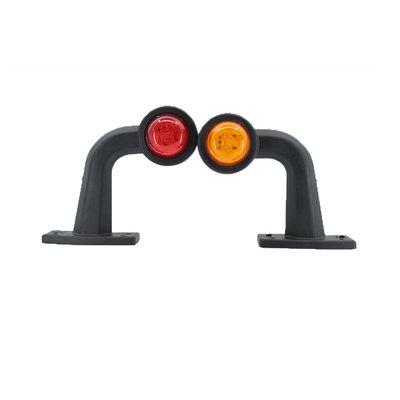 LED 2-Function Marker Lamp 10-30V Amber + Red (Set)