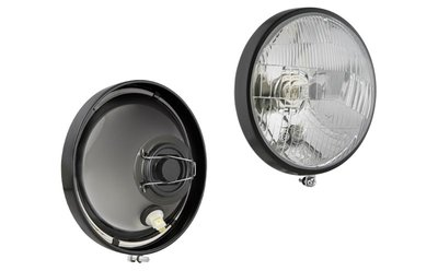 Headlamp H4 Ø160x70