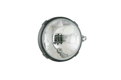 Headlamp, H4, Ø161x112 Plastic Right