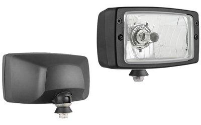 Headlamp, H4, 184x102x108, 12V