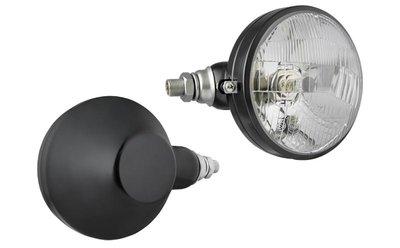 Headlamp, H4, Ø161x112 Metal Left
