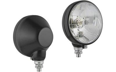 Headlamp, H4, Ø161x112 Vertically