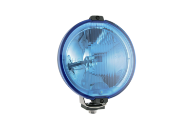 Wesem Halogen HOS2 Chrome Driving Light Blue 24V (LED Ring)