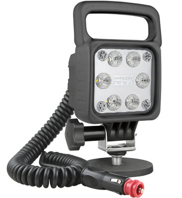 LED Worklight Floodlight 2500LM + Cable + Switch + Cigarette plug