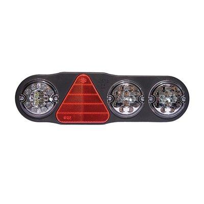Led Rear Lamp 7 Functions + Reversing Light and Fog Lamp Right
