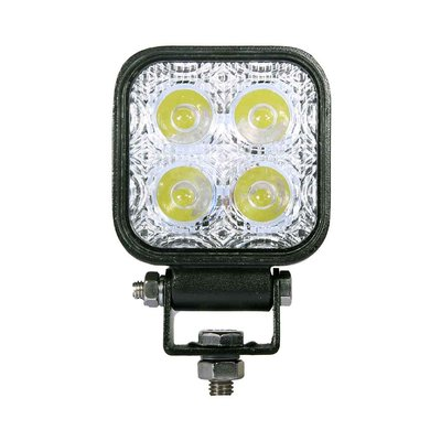 12W LED Work Light Square Basic