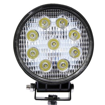 27W LED Work Light Round Basic