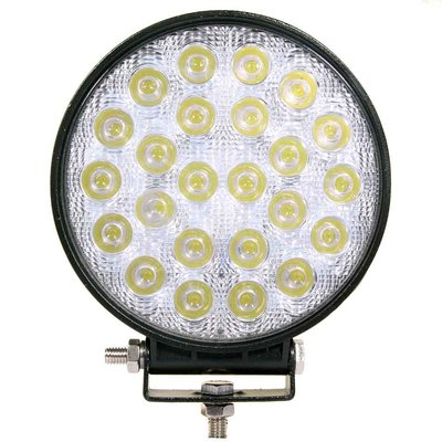 72W LED Work Light Round Basic