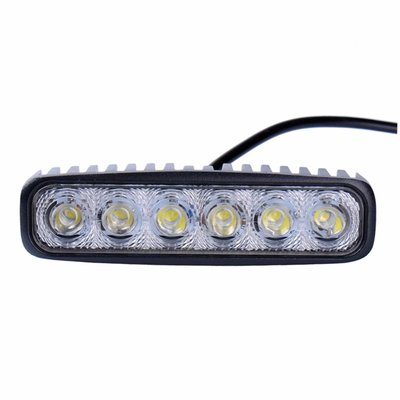 18W LED Work Light Rectangle Basic