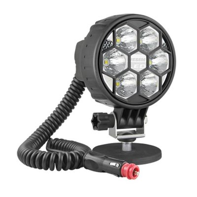 LED Work Light 2500LM With Magnetic Holder And 8M spiral cable