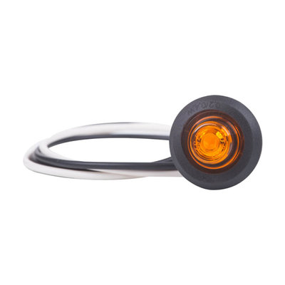 Horpol LED Position Light Amber Round Built-in LD-2629