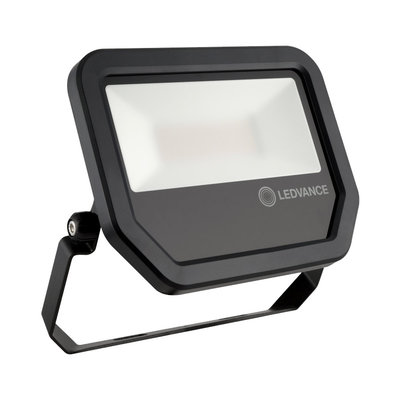 Ledvance 30W LED Flood Light 230V Black 4000K Neutral White