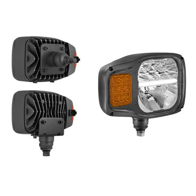 LED Headlamp With Direction indicator Right K2