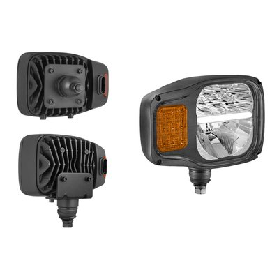 LED Headlamp With AMP Superseal Right K7