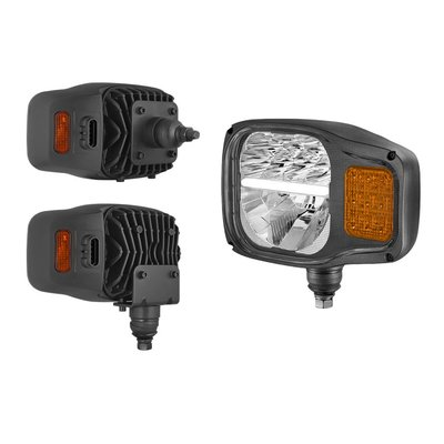 LED Headlamp With Direction Indicator + AMP Superseal Connector K7