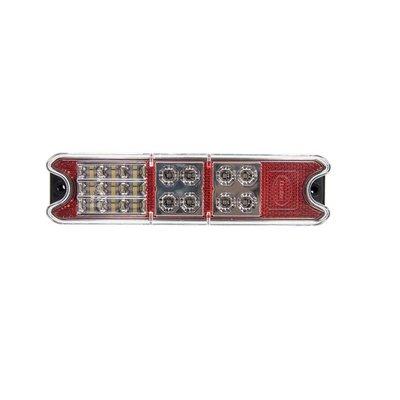 Rear Led Lamp Rectangular 10-30V