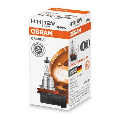 Osram H11 Halogen Lamp 12V PGJ19-2 Original Line