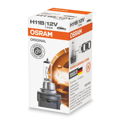 Osram H11B Halogen Lamp 12V BA15s Original Line