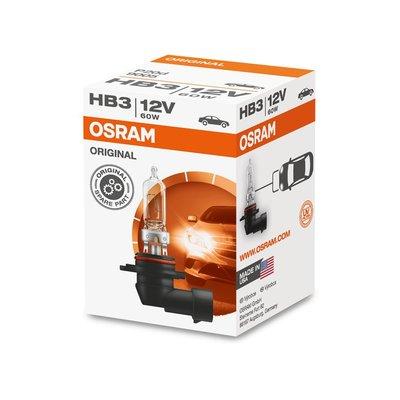 Osram HB3 Halogen Lamp P20d Original Line