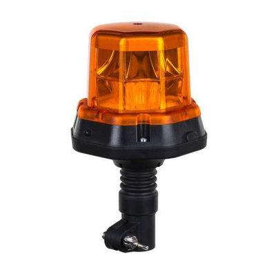 Horpol LED Flash Beacon DIN Bracket Orange LDO-2276