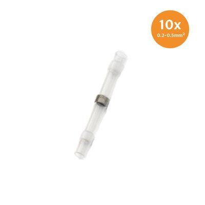 Heatshrink Solder Connectors Waterproof White (0.2-0.5mm) 10 Pieces
