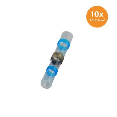 Heatshrink Solder Connectors Waterproof Blue (1.5-2.5mm) 10 Pieces