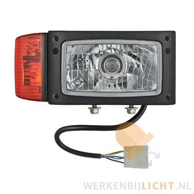 Wesem Headlight REPR2 Right 12V